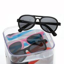 Polaried Kids Sunglasses Boys Cool Sunglass TR90 Girls Sun Glasses Light Plastic Beach Shades Eyewear Outdoor Decoration(China)