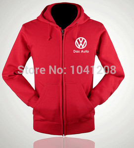 Image 3 - ectic S~XXL size 4 colours winter jackets Volkswagen VW 4S worker clothes sweatershirt pullover