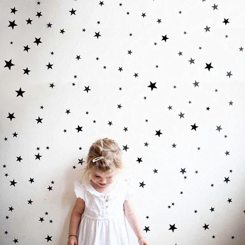 ملصقات باشكال النجوم 150 قطعة باحجام مختلفة 3