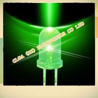 3mm destaque cabelo verde verde Verde LED light-emitting 1000/pacote 0 11 KG/bag