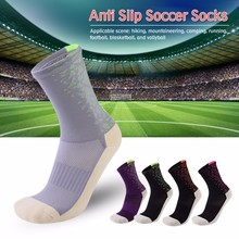 Cycling Socks Men Professional Sport Outdoor Breathable Bicycle Racing Anti Slip Soccer calcetines ciclismo