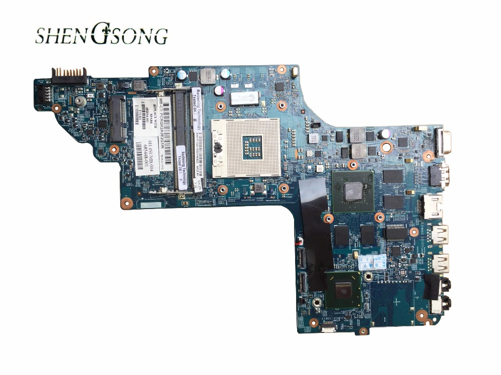 682016-001 48.4ST10.031 for HP DV7-7000 Laptop motherboard DV7T NOTEBOOK 682016-501 HM77 630M/2G 100% fully tested !! блок питания для ноутбука lenovo thinkpad 65w ac adapter 40y7700