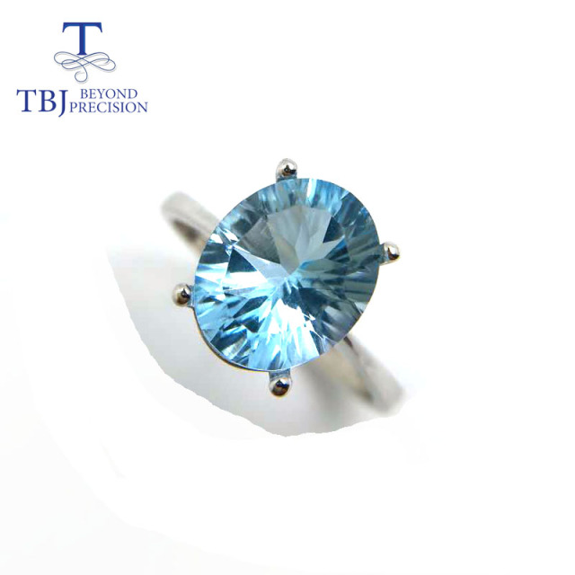 engagement wedding for sky topaz ring umcho item silver sterling rings blue women