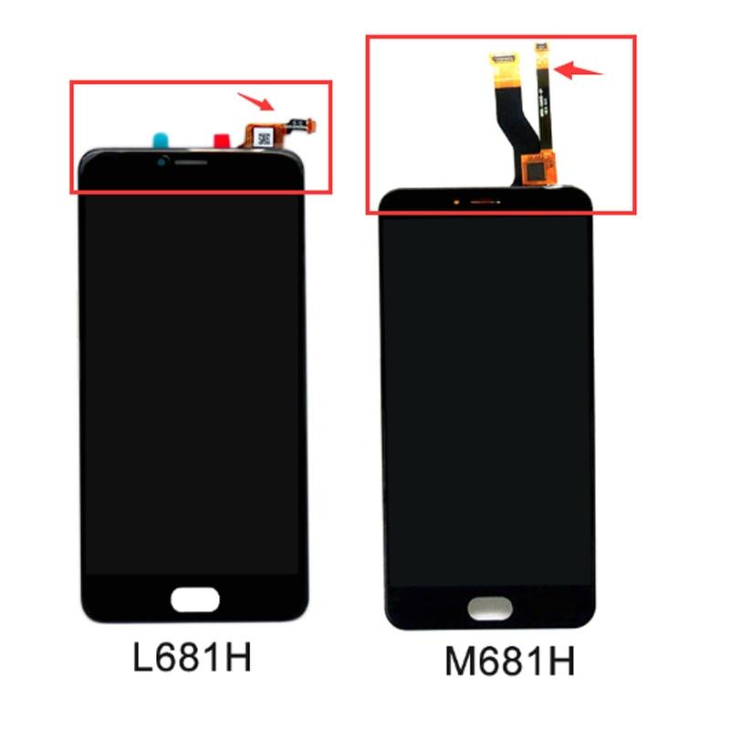100% Nuevo Para Meizu M3 Nota L681H Pantalla LCD + Pantalla Táctil ensamble Reem