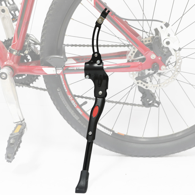 4b9897fa0e6 Drbike Aluminum Alloy Adjustable Bike Kickstand Cycling Side Stand Bicycle  Supporter with reflective Mountain Bike Accessories