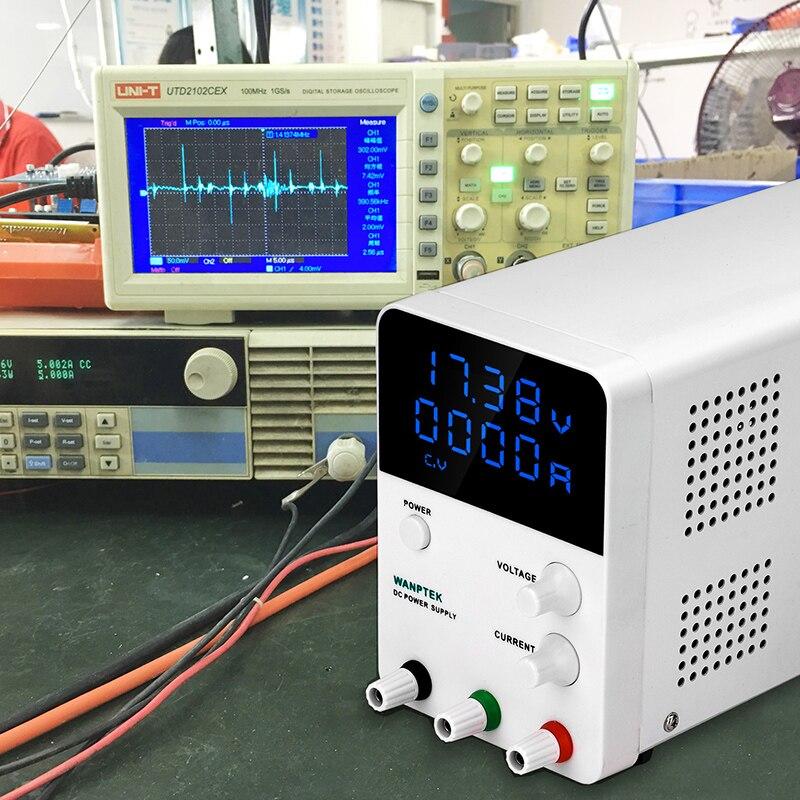 30 V 60 V 5A 10A haute précision numérique réglable dc alimentation GPS3010D 0.001A régulateur de tension laboratoire dc alimentation - 6