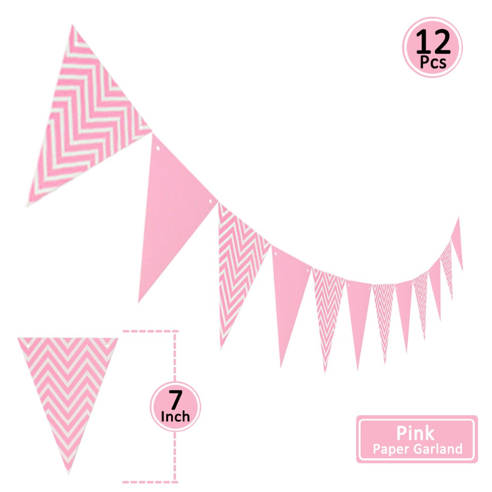 Image 4 - 15pcs Paper Tassel Kids Birthday Party Supplies Table Decoration Unicorn Baby Boy Girl Adult Frozen Princess Parties Decorations-in Disposable Party Tableware from Home & Garden