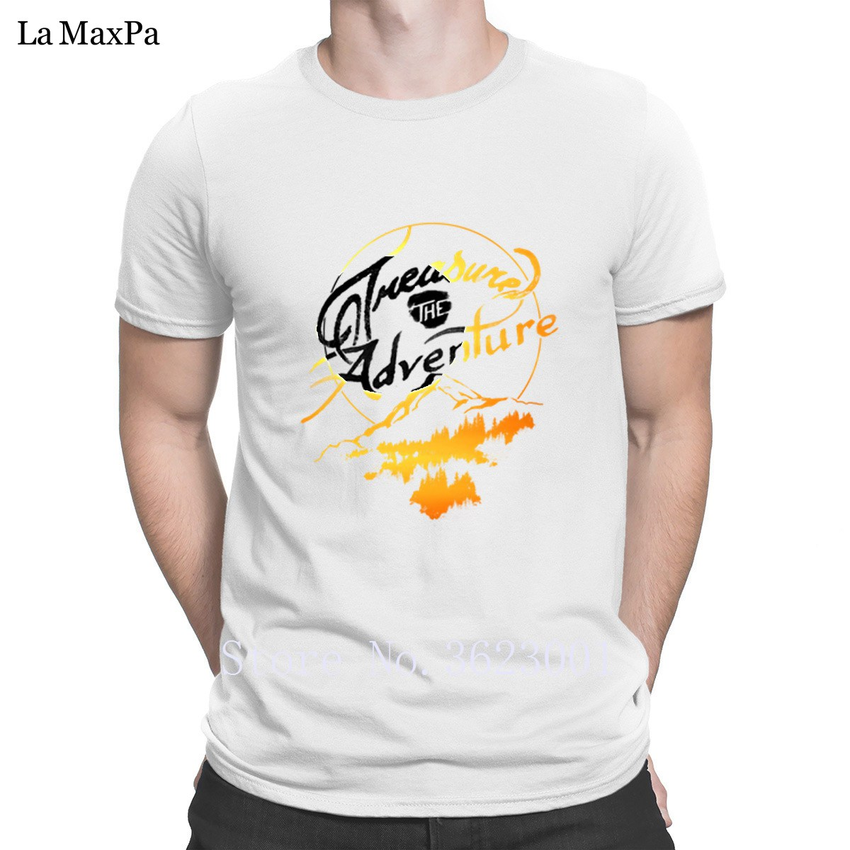 a4f29128 Design Comical T Shirt Treasure The Adventure Men's T Shirt Outfit Tshirt  For Men Natural Tee Shirt Mens 100% Cotton Pop Top Tee-in T-Shirts from  Men's ...