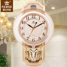 Оверлорд гостиная МАЯТНИК Часы креативная музыка художественное украшение настенные диаграммы настенные часы в европейском стиле немой кварцевые настенные часы