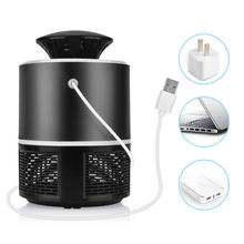 Elektrische Muggen Killer Lamp Stralingsloze Muggen Killer Fotokatalyse Mute Home LED Bug Zapper Insectenval Anti Mosquito(China)