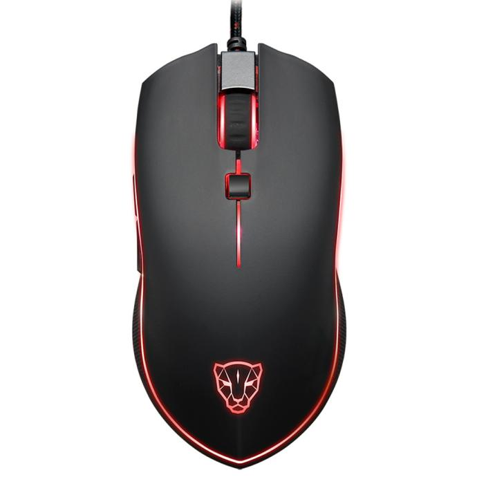 Motospeed V40 Wired Gaming Mouse Computer Gaming Mice 4000 DPI 6 Buttons Breathing LED Optical Wired Gaming Mouse for PC Gamer et t6 wired gaming mouse black