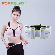 POP RELAX slimming waist massage belt body vibra electric vibrating massager health care vibrator fitness beautician equipment
