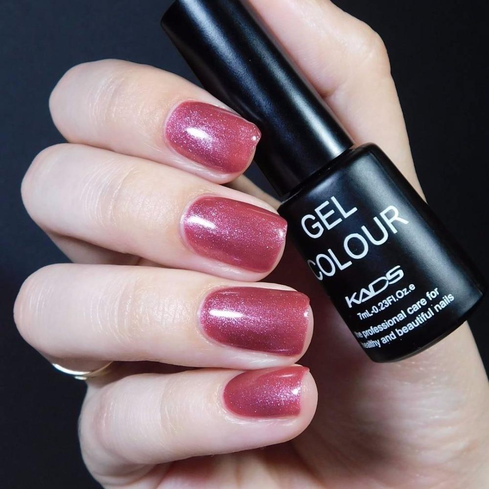 KADS New Gel Polish Charming Red Series Nail Gel UV Led Long Lasting ...