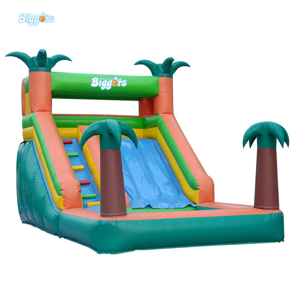 Used Inflatable Bounce Castle Jumping Water Slide For Sale