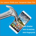 """0.3mm 2.5D 9H Anti-shatter Tempered Glass film for Lenovo PHAB Plus 6.8"""" tablet pc Explosion-proof screen protector glass films"""