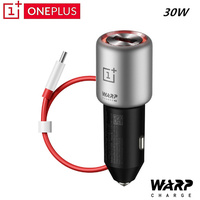 Original Oneplus Warp Charge 30w Car Charger 5V/6A Max QC For Oneplus 3 / 3T / 5 / 5T / 6 / 6T / 7 For Oneplus 7 Pro Normal