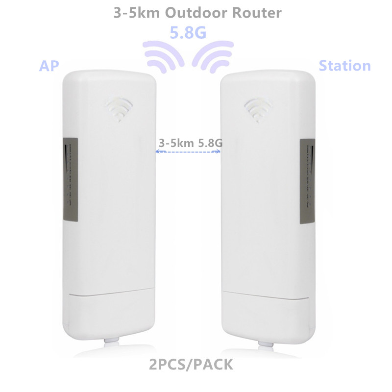 9344 9331 Outdoor AP Router  3-5km Chipset WIFI Router WIFI Repeater CPE Long Range 300Mbps5.8G AP Bridge Client Router Repeater