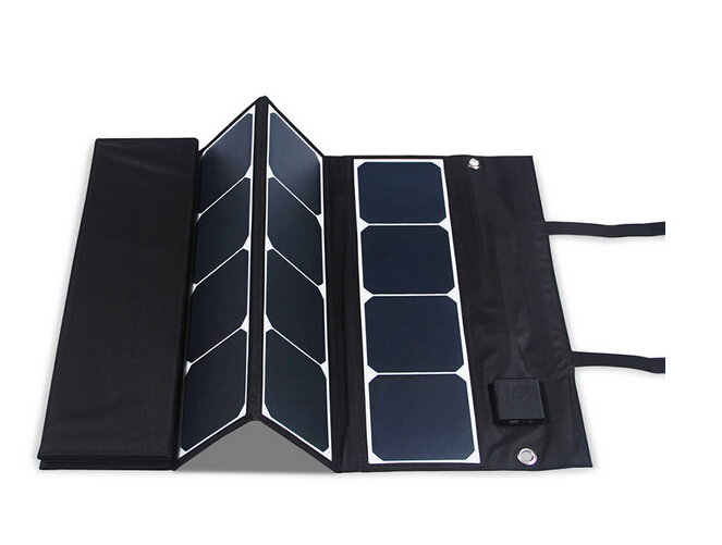 180W Sunpower folding solar panel charger for car battery and 12V devices