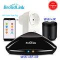 Controlador Broadlink Rm3 Pro RM Mini3 WiFi IR RF automatización Universal controlador SP3 UE Wifi de enchufe inalámbrico remoto APP