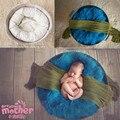 Fotografia crianças Adereços Anel de Trigo Sombra Estúdio Photo Studio Fotografia Assistente Travesseiro Travesseiro Do Bebê Recém-nascido