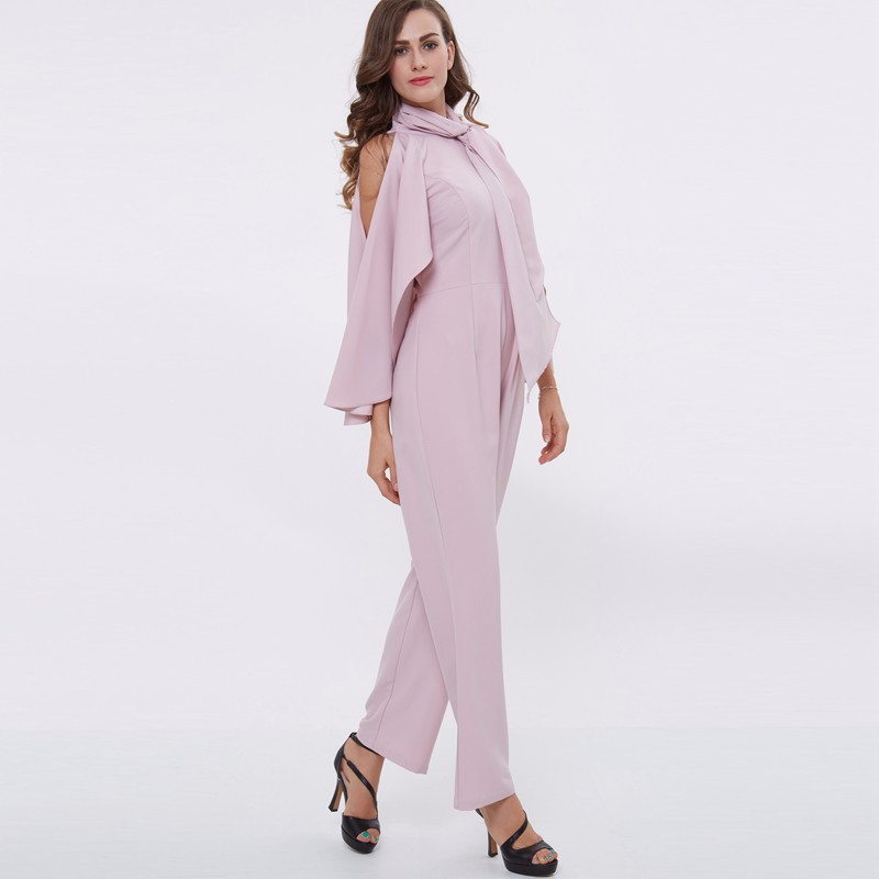 autumn pink Jumpsuits 3