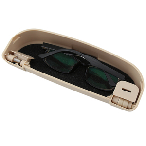 Image 3 - VCiiC حامل نظارات شمسية نظارات صندوق تخزين علبة لميتسوبيشي Asx لانسر 10 9 أوتلاندر باجيرو لفورد فوكس 3 لكيا