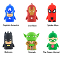 New Arrival Cool Portable Power Bank 4500mAh The Avengers Charger Mobile Power Supply Universal PowerBank