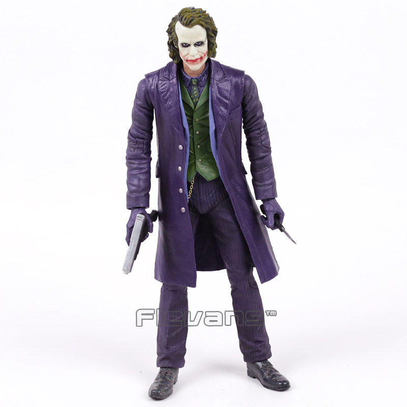 NECA The Joker Batman PVC Action Figure Collectible Model Toy Brinquedos12inch 30cm neca the terminator 2 action figure t 800 endoskeleton classic figure toy 718cm 7styles