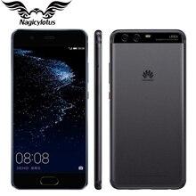 Оригинал huawei p10 плюс 4 г lte мобильный телефон 5.5 дюймов кирин 960 6 ГБ RAM 64/128 ГБ ROM Android 7.0 2 К 2560×1440 20.0MP Отпечатков Пальцев