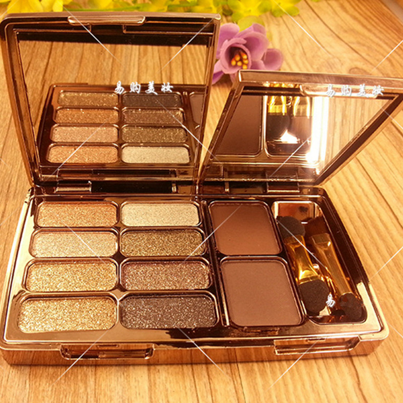 Eyeshadow Palette Diamond Bright Colorful Makeup Eye Shadow Make Up Set Flash Glitter Eyeshadow With Brush Mirror Maquillage cosmetic 4 colours diamond eyeshadow palette with mirror and brush