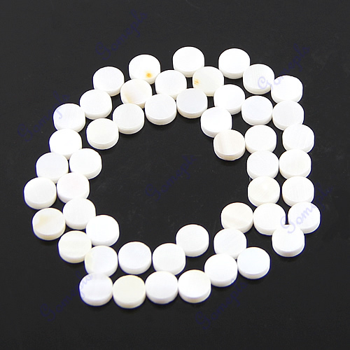 50 Pieces High Quality 6mm White Pearl Shell Dots For Guitar Fingerboard environmentally friendly pvc inflatable shell water floating row of a variety of swimming pearl shell swimming ring