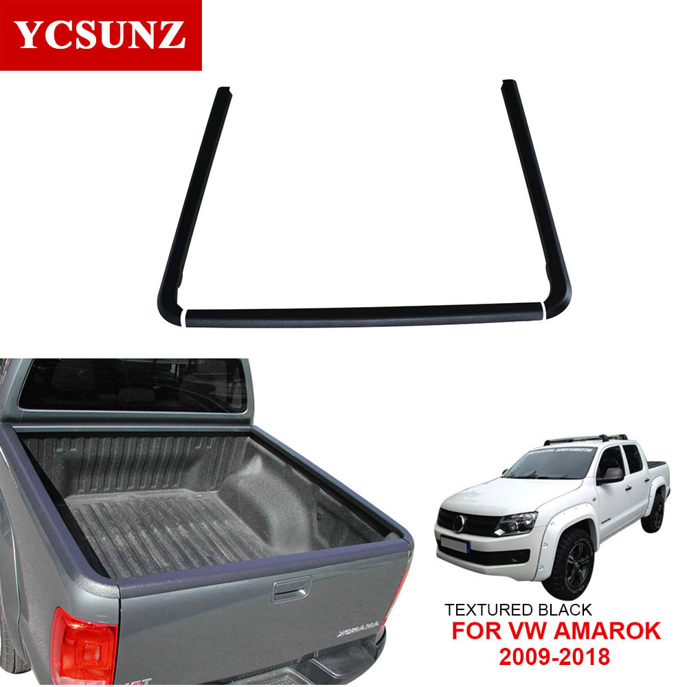 US $111 33 35% OFF|Rail Bedliner Car Accessories Double Cab Load Bed Caps  For VW AMAROK 2009 2018-in Body Kits from Automobiles & Motorcycles on
