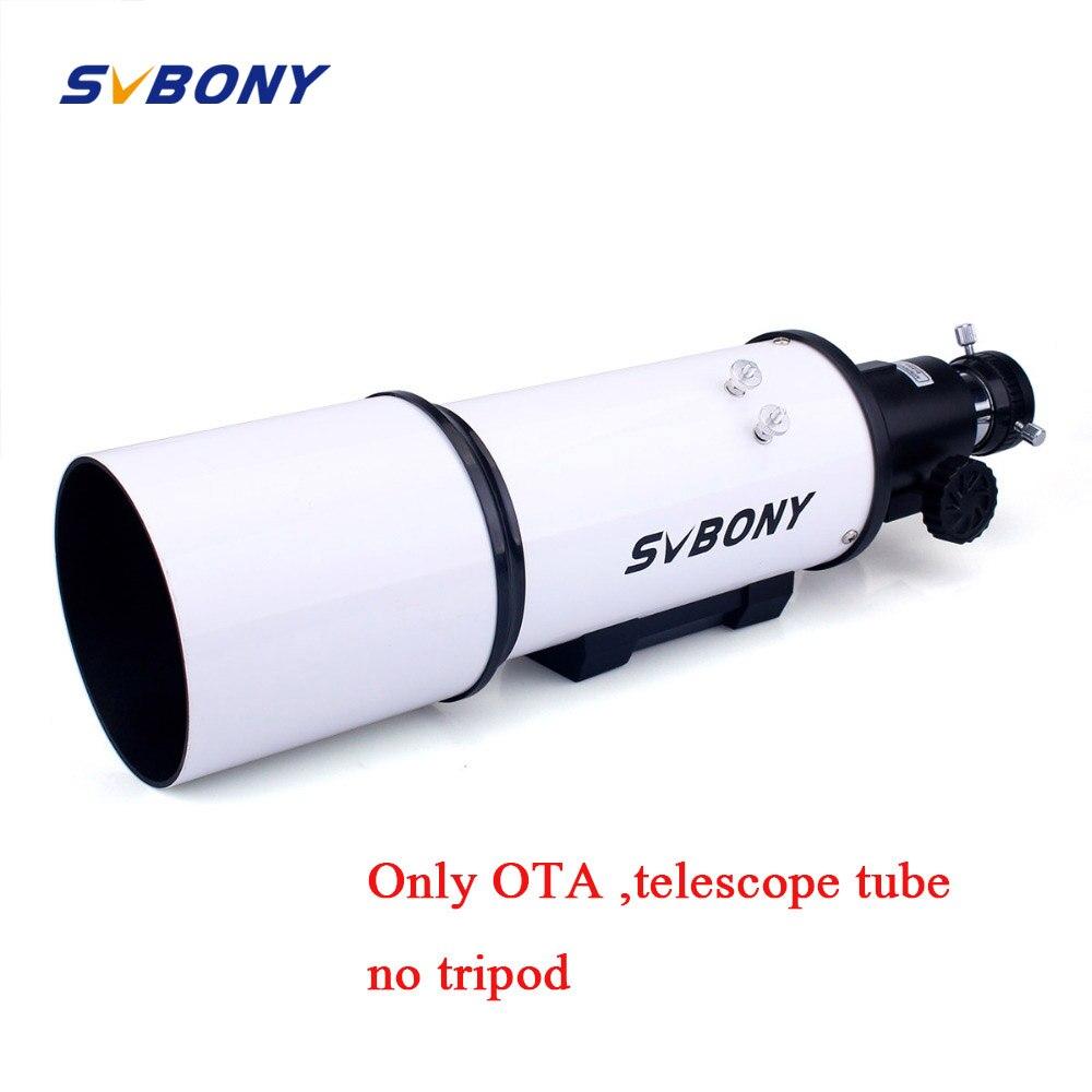 SVBONY SV20 Lunette Astronomique 80mm OTA L'astronomie Entièrement Enduit Verre Optique Astronomique Monoculaire Télescope F9318