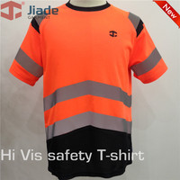 Jiade Adult High Visibility T Shirt Short T Shirt Men S Work ReflectiveT Shirt EN471 Shirt