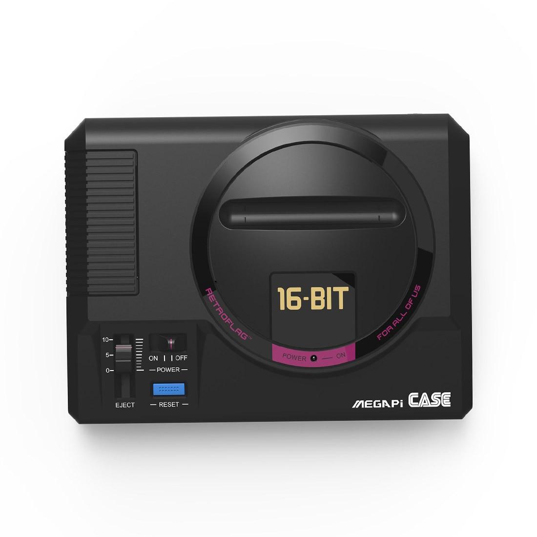 MODIKER Retroflag Classic Video Games Box Reset Button Safe Shutdown Megapi Case For Raspberry Pi 3 B+ B Plus) Programmable Toys