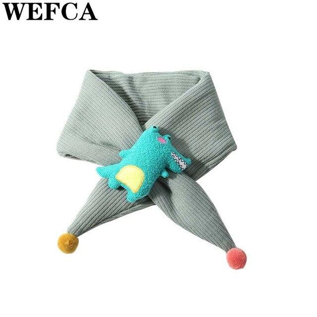 Bebé bufanda caliente cocodrilo patrón bufandas para niña niño lindo ...