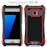 R JUST Cell Phone Case For Samsung Galaxy S7 S7 Edge Luxury Doom Armor Dirt Shock