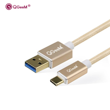 USB Type C Cable 3.1 USB Type-C USB C Data Sync Charger Cable for Xiaomi OnePlus 2 Nexus 6P 5X ZUK Z1 Z2 MAC Cable USB-C