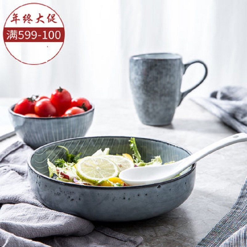 Creative Design European Style Marble Pattern Ceramic Tableware Porcelain Plate Dish Platter Bowl Cutter Board Dinnerwar