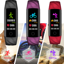 Running Smart wrist Band Heart rate Blood Pressure Oxygen Oximeter Sport Bracelet Waterproof Watch For iOS Android