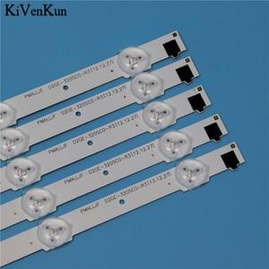 """Image 5 - 650mm 9 Lampen Led hintergrundbeleuchtung Streifen Für Samsung UE32F4020AW 32 """"D2GE 320SC0 R3 2013SVS32H 2013SVS32F Bars Kit Fernsehen FÜHRTE Bands"""