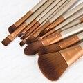 12 PCS Pincéis de Maquiagem Profissional Pincéis de Maquiagem Ferramentas Set Make Up Brushes Kit Beauty Pincéis para Maquiagem
