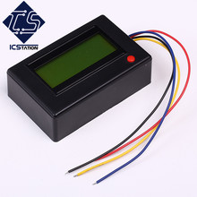 20A Bluetooth Ammeter Voltmeter Power Energy Meter Clock for APP/PC