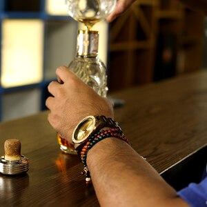 Image 2 - BOBO BIRD Watch Men Quartz Wooden Wristwatches Top Brand Luxury Mens Watches in Wooden Box relogio masculino Great Mens Gift