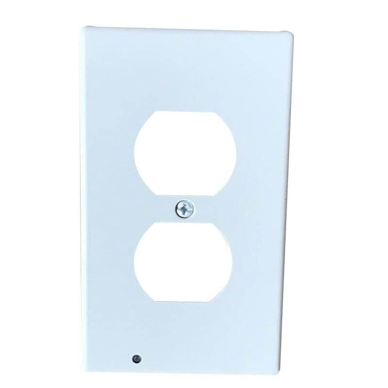 Plug Cover Light Sensor For Hallway Bedroom Bathroom Led Night Light Cover Plate Safty Wall Outlet