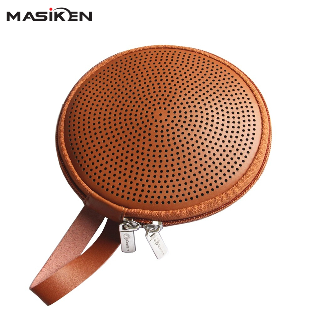 MASiKEN Travel Carry PU EVA hard Case for Logitech UE ROLL Ultimate Ears 360/UE ROLL 2 Speaker Bag Holder Zipper Pouch