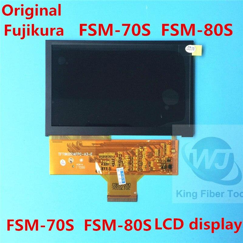 D'origine Fujikura FSM-80S FSM-70S FSM-70R FSM-62S 22 S 12 S Fibre Optique Fusion D'affichage À CRISTAUX LIQUIDES