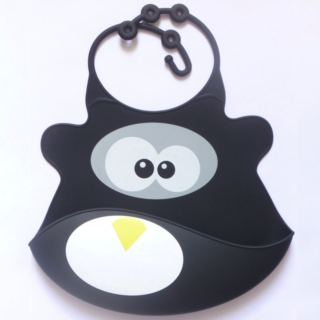 Cute & Soft Waterproof Silicone Bib