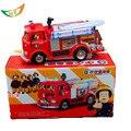 Fireman Sam modelo de coche de juguete pequeño coche de juguete camión de bomberos de salvamento lada samara