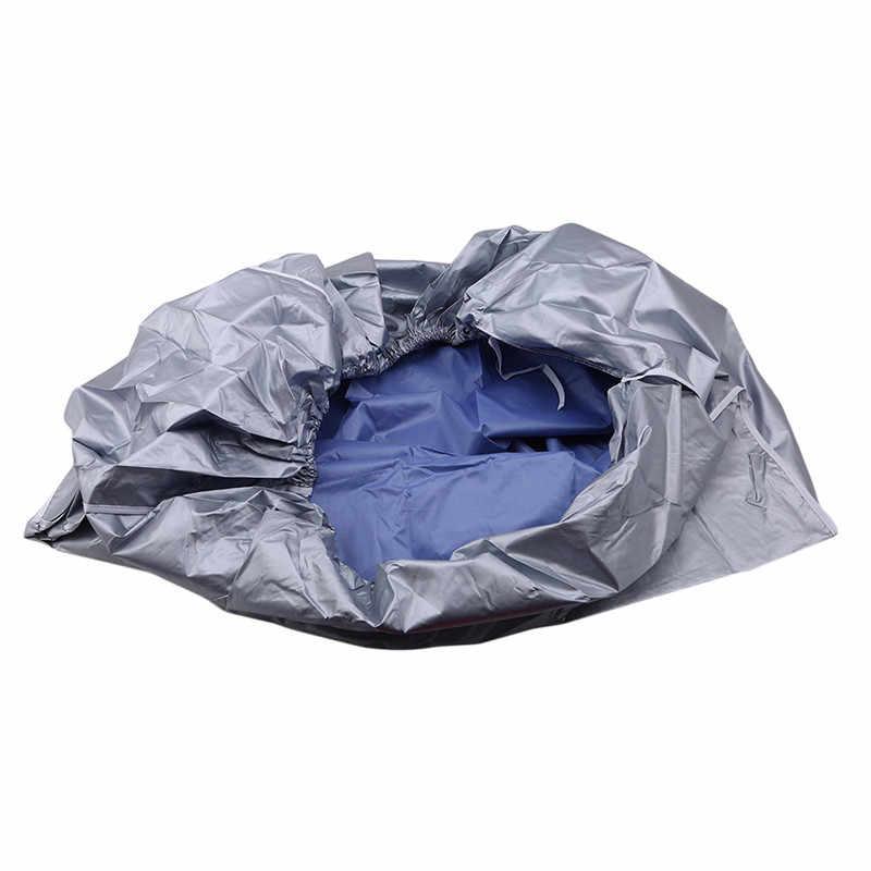Anti-poeira de lavagem anti-neve limpeza capa impermeável ao ar livre ar condicionado capa poliéster condicionador de ar limpeza capa